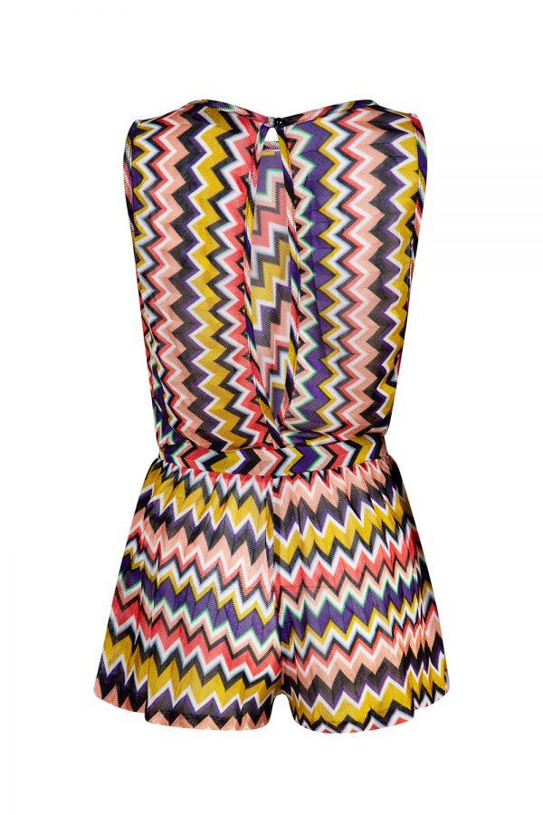 Missoni Women's Zig Zag Playsuit Multicoloured
