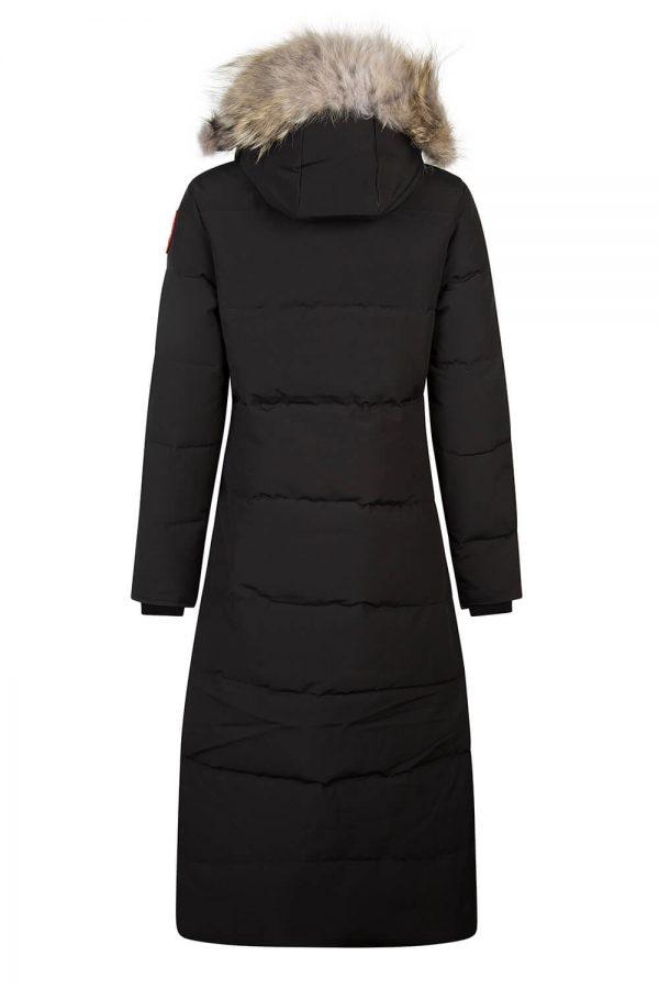 Canada Goose Mystique Women's Long Coat Black