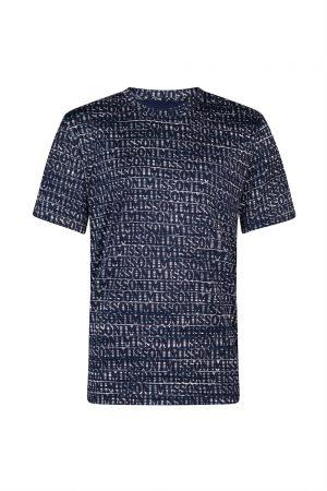 MissoniMen's Logo Print T-shirt Navy