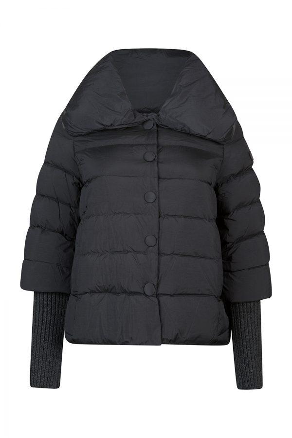 Tatras Colma Women's Contrast sleeve Down Jacket Black