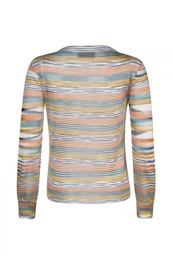 Missoni Women's Space-dye Top Multicoloured