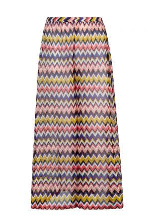 Missoni Women's Zig Zag Palazzo Pants Multicoloured