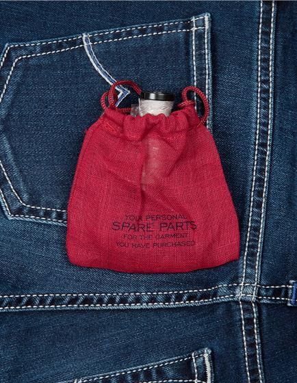Jacob Cohën Ladies J711 Slim Denim Jeans Blue