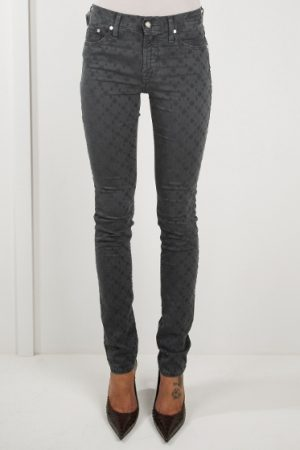 Jacob Cohën Ladies J710 Patterned Skinny Jeans Grey