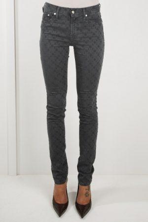 Jacob Cohën Ladies J710 Patterned Skinny Jeans Grey