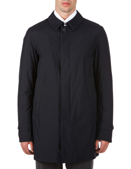 Herno Laminar Men's Gore-tex Padded Rain Coat Navy