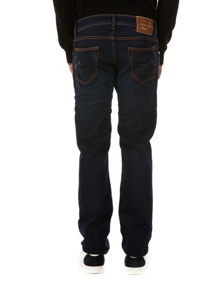 Jacob Cohen J622 Men's Comfort Straight-leg Jeans Dark Blue