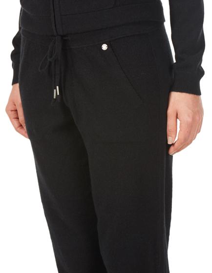 Woolrich Ladies Cashmere Tracksuit Bottoms Black