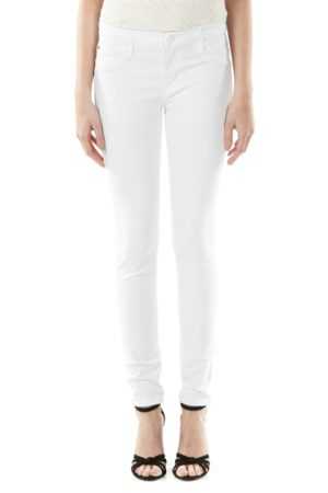 Hudson Nico Super-skinny Mid-rise Ladies Jeans White