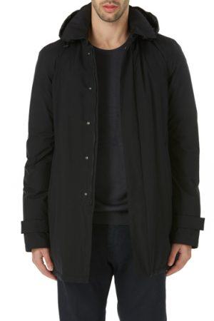 Herno Laminar Men's Down-filled Raincoat Black