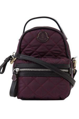 Moncler Georgine Ladies Backpack Handbag Burgundy
