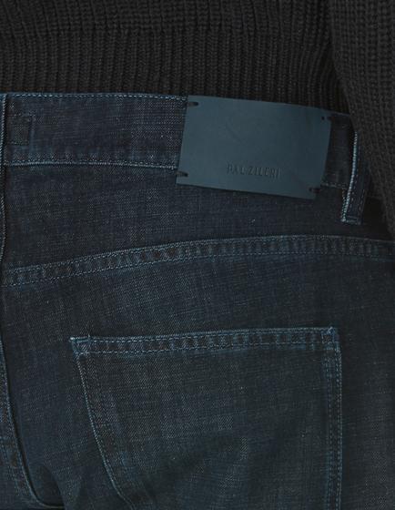 Pal Zileri Men's Slim-fit Cotton-blend Jeans Indigo