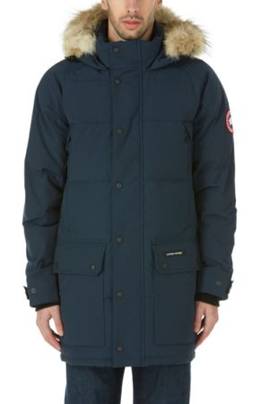 Canada Goose Emory Men's Quilted Down Parka Blue