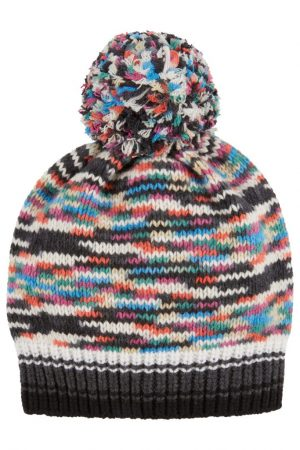 Missoni Women's Cashmere-wool Knitted Beanie Hat Pink