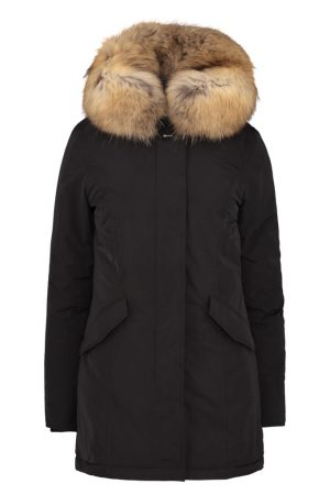 Woolrich Women's Luxury Arctic Down Parka Black