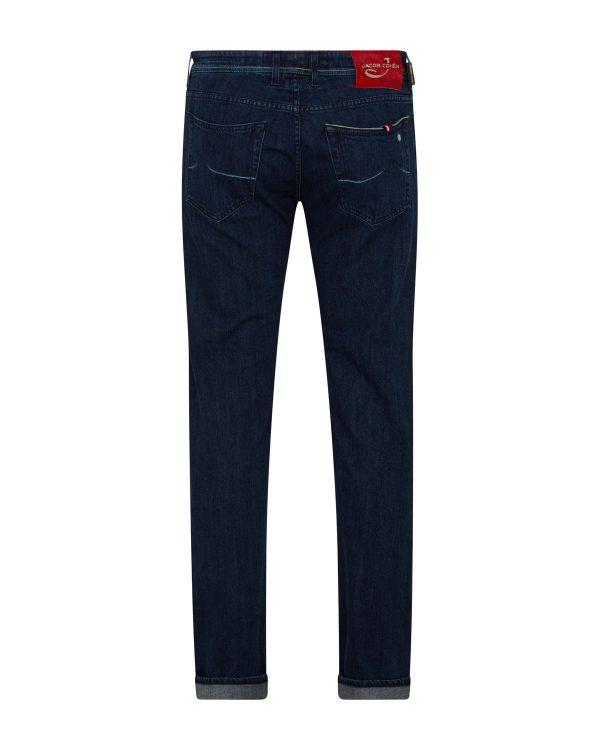 Jacob Cohën Men's J622 Limited Comfort Fit Jeans Dark Blue BACK
