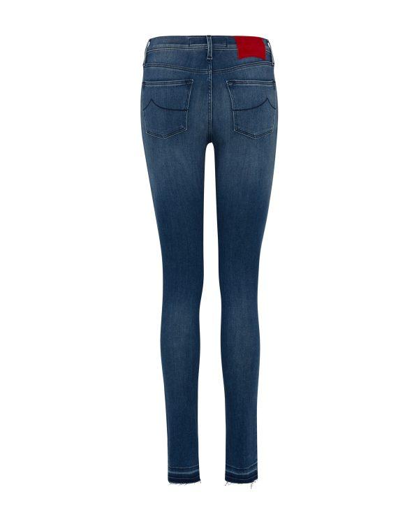 Jacob Cohën Women's Kimberly Slim Stretch Jeans Blue BACK