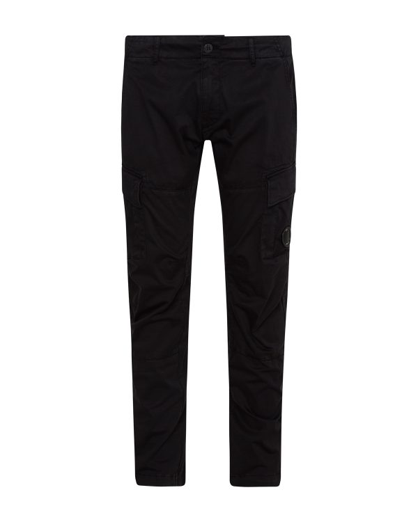 C.P. Company Men's Slim Fit Cargo Trousers Navy FRONT