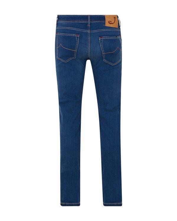 Jacob Cohën Men's Slim Fit Jeans Blue BACK