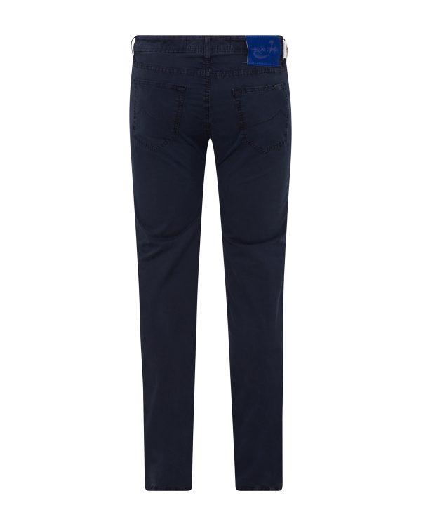 Jacob Cohën Men's Chino Trousers Navy BACK