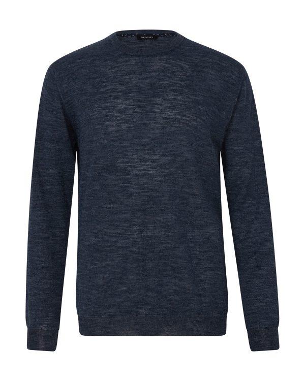 Sand Men's Round-neck Sweater Grey