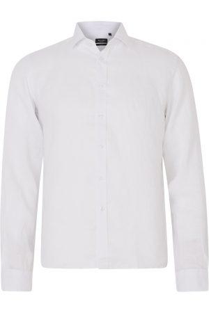 Sand Men's Classic Linen Shirt White