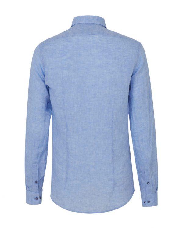 Sand Men's Classic Linen Shirt Light Blue