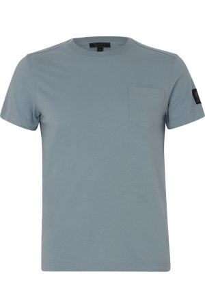 Belstaff New Thom Men's T-shirt Light Chambray FRONT
