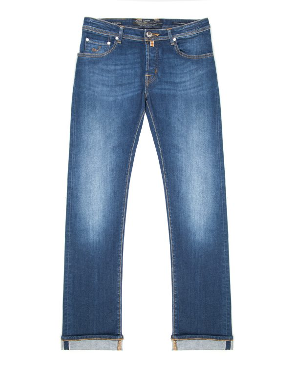 Jacob Cohën Men's J622 Limited Comfort Fit Jeans Dark Green