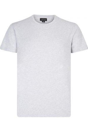 Velvet Men's Simple T-shirt Grey