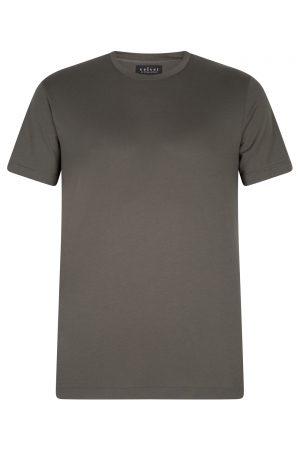 Velvet Men's Simple T-shirt Green