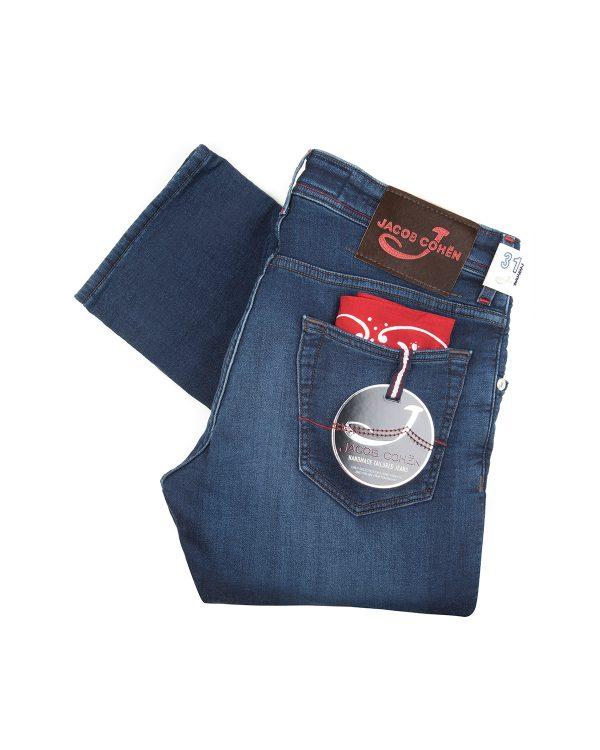 Jacob Cohën Men's J622 Comfort Jeans Dark Blue