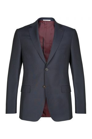 Pal Zileri Men's Hand Stitched Wool Suit Blue
