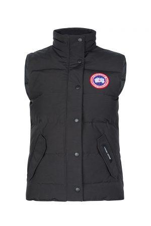 Canada Goose Women's Freestyle Crew Vest Black