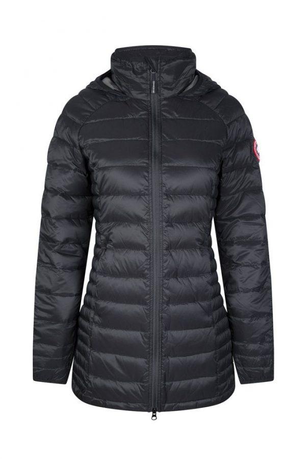 Canada Goose Women's Brookvale Hooded Coat Black