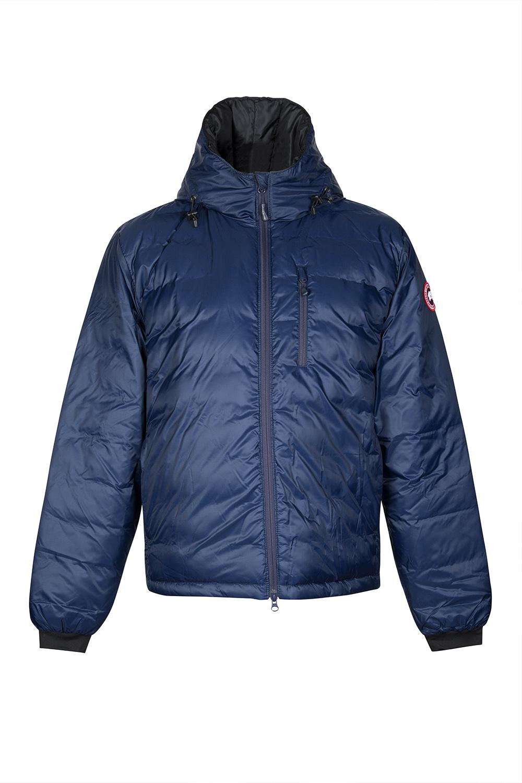 Canada Goose Men S Lodge Hoody Jacket Blue Linea Fashion