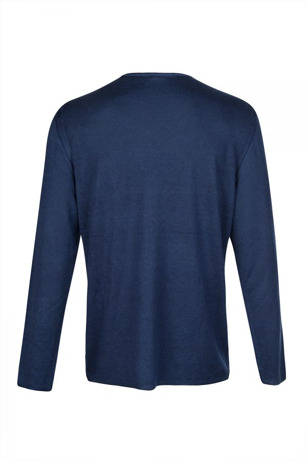 John Varvatos Cashmere-blend Jumper Blue