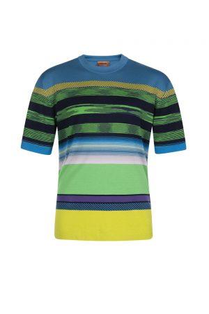 Missoni Men's Crew Neck T-shirt Multicoloured