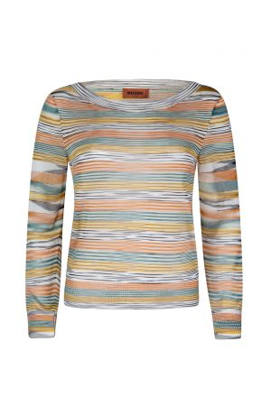 Missoni Women's Space-dye Top Multicoloured