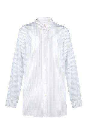 Marni Men's Pinstripe Shirt White