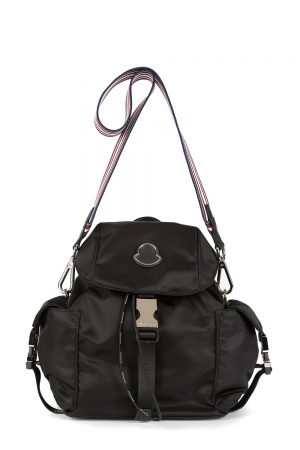 Moncler Dauphine Women's 2-way Back Pack Black