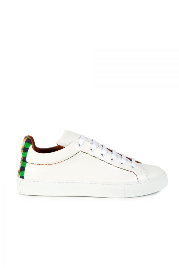Missoni Men's Leather Sneakers White