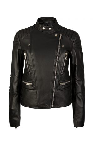 Belstaff Sidney Women's Leather Jacket Black