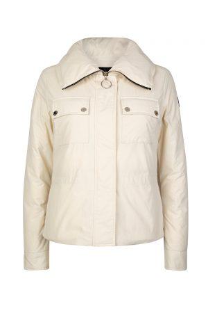 Belstaff Bougham Women's Puffer Jacket Cream