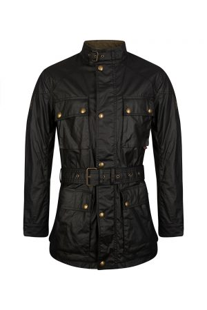 Belstaff Roadmaster Men's Wax Cotton Jacket Black