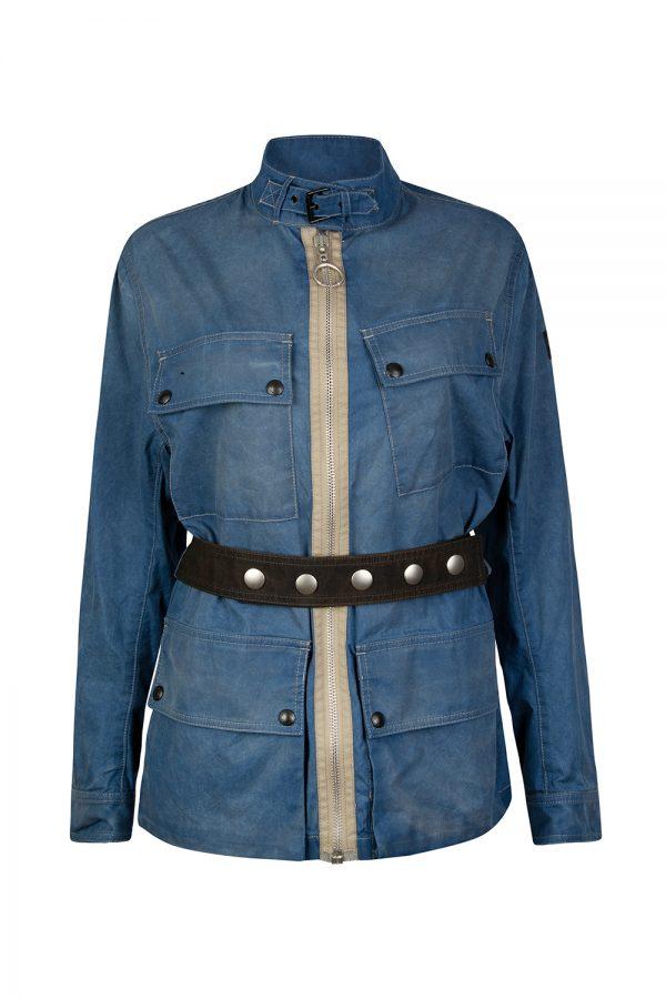 Belstaff Caiyside Women's Cotton Jacket Blue