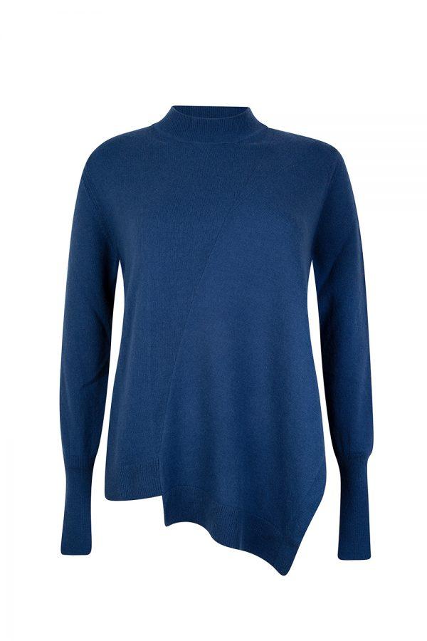 Belstaff Swanston Women's Cashmere-blend Sweater Blue