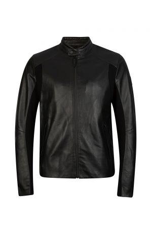 Belstaff X Mclaren 950.S001 Men's LeatherJacket Black