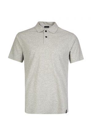 Belstaff Limehouse Men's Cotton-blend Polo Shirt Grey