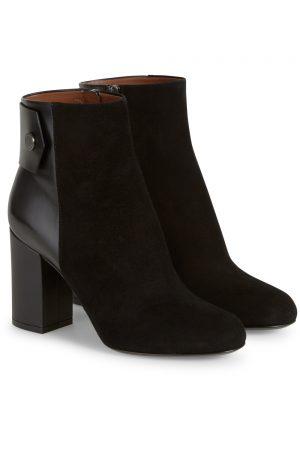 Belstaff Women's Astel Suede Ankle Boots Black